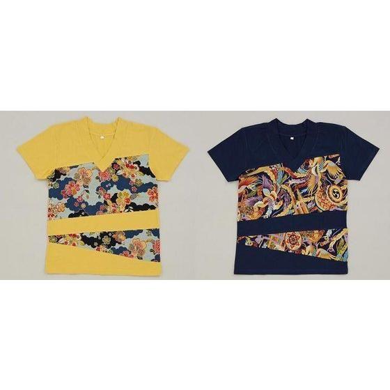 獣電戦隊キョウリュウジャー キョウリュウゴールド 和柄Tシャツ