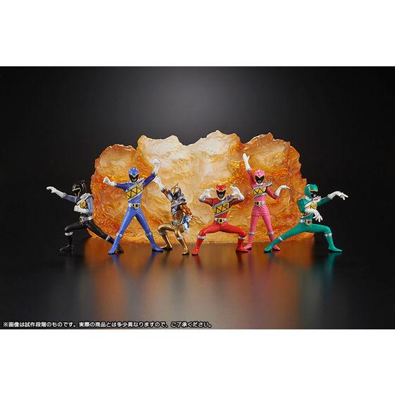 【HG エイチジーヒーローズ】 スーパー戦隊EX —史上最強のブレイブ— (2013年11月発送)