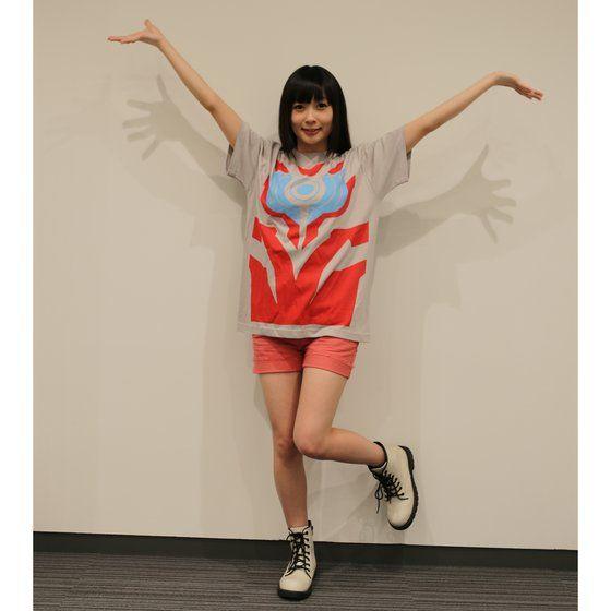 【ソフビ付き】ウルトラマンギンガ なりきり風デザインTシャツ