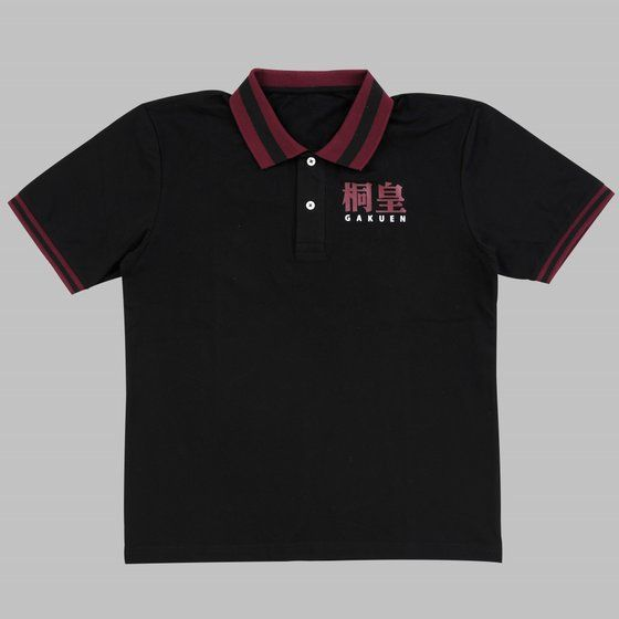 黒子のバスケ ポロシャツ 学校ロゴ 桐皇学園