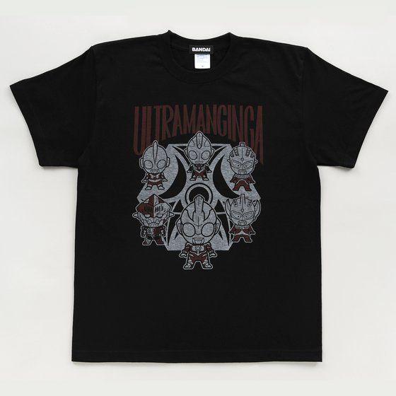 【ソフビ付き】ウルトラマンギンガ ディフォルメ柄Tシャツ
