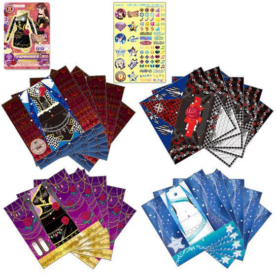 アイカツ!カードつきファッションレター SPICY AGEHA & FUTURING GIRL & LoLi GoThiC セット