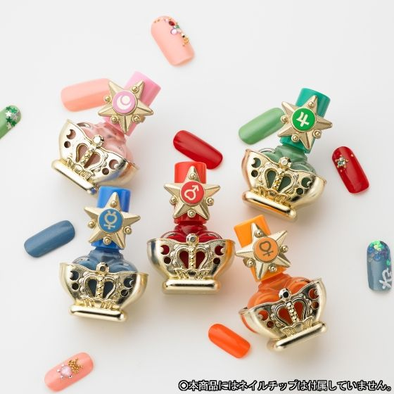 【受注生産】 美少女戦士セーラームーンR ミラクルロマンス ネイルコレクション