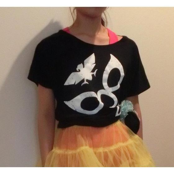 仮面ライダー ショッカー柄 ドルマンTシャツ(レディース)