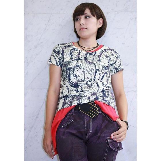 仮面ライダーウィザード HARUTOタンクトップ(操真晴人モデル)レッド・ブラック