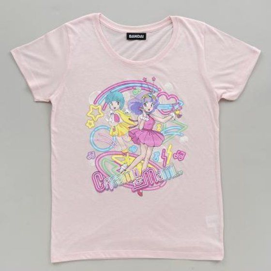 魔法の天使 クリィミーマミ ネオン柄Tシャツ