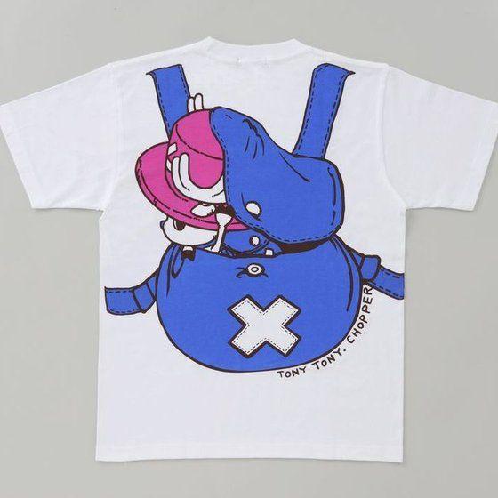 【再販】ワンピース チョッパーのリュック柄Tシャツ