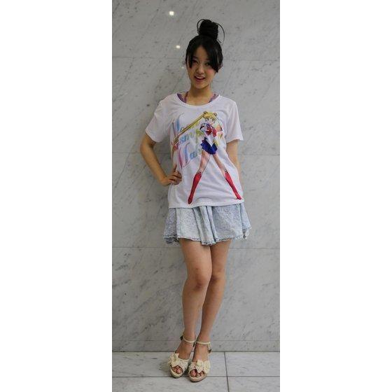 美少女戦士セーラームーン Full color print Tシャツ セーラームーン