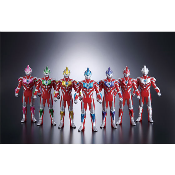 SPARK DOLLS SP ULTRAMAN GINGA Seven Colors Collection