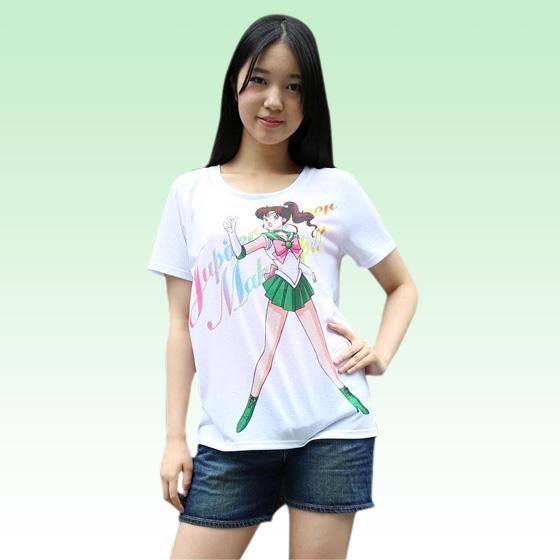 美少女戦士セーラームーン Full color print Tシャツ セーラージュピター