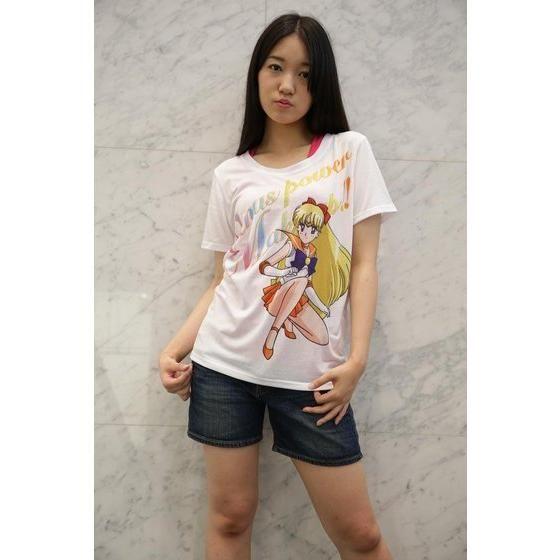 美少女戦士セーラームーン Full color print Tシャツ セーラーヴィーナス