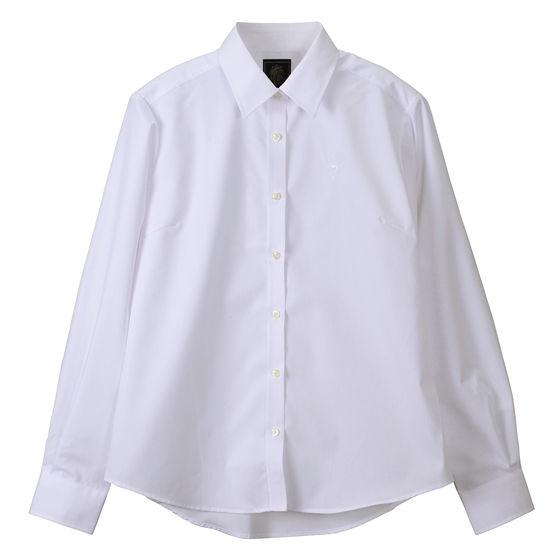 ブロードシャツベーシック ホワイト(ホワイト)