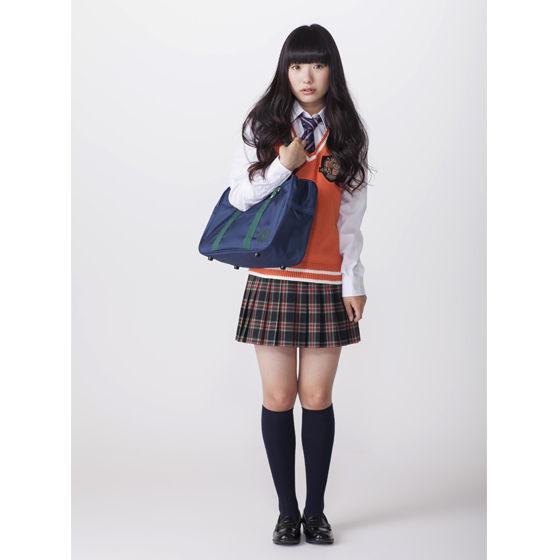 【ネット通販限定カラー】ニットベストエンブレム オレンジ