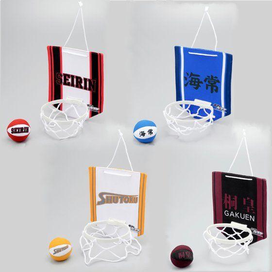 黒子のバスケ バスケットゴールタペストリー&ミニボールクッション