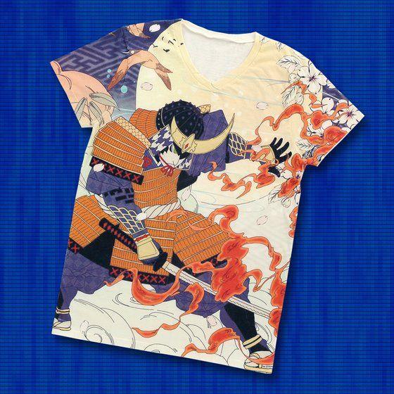 仮面ライダー鎧武 TEAM GAIM(チーム鎧武) 武将Tシャツ フルカラー