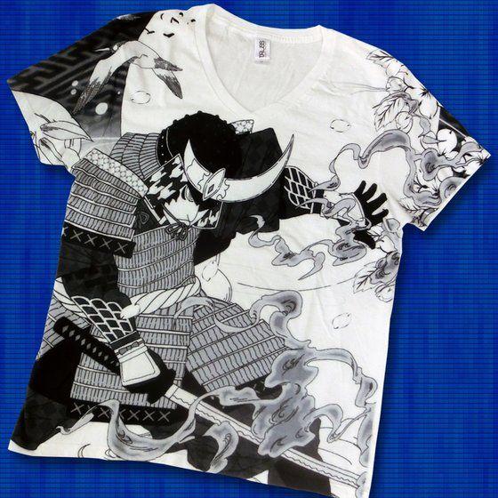 仮面ライダー鎧武 TEAM GAIM(チーム鎧武) 武将Tシャツ ブラック