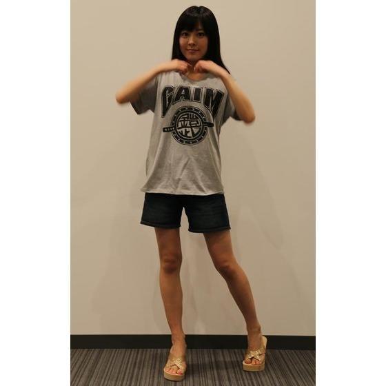 仮面ライダー鎧武 TEAM GAIM(チーム鎧武) Tシャツ 杢グレー