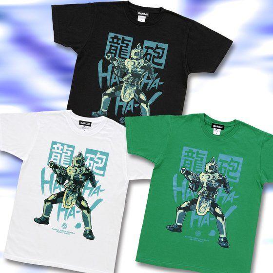 仮面ライダー鎧武 仮面ライダー龍玄 メンズTシャツ