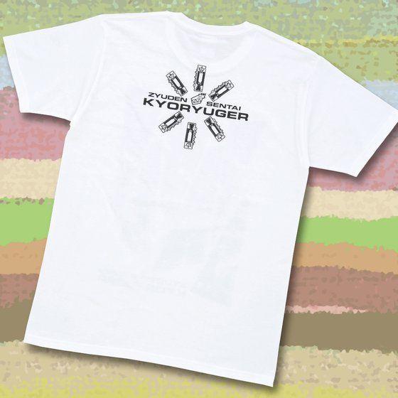獣電戦隊キョウリュウジャー 獣電池付きTシャツ(6人柄)