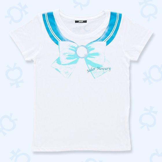 美少女戦士セーラームーン なりきりセーラーTシャツ(セーラーマーキュリー柄)