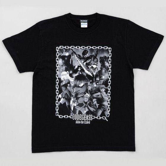コードギアス亡国のアキト 第2章 Tシャツ キービジュアル柄