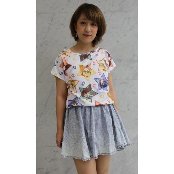 美少女戦士セーラームーン 総柄ロングTシャツ