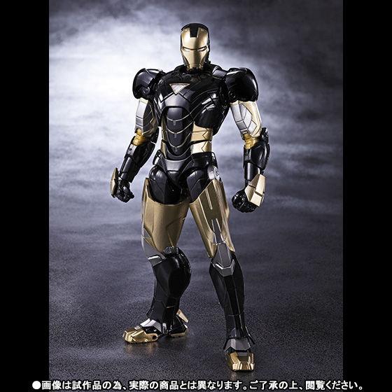 【抽選販売】S.H.Figuarts アイアンマン マーク6 ブラックVer.