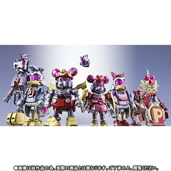 【抽選販売】超合金 超合体キングロボ ミッキー&フレンズ〜ファンタジックカラー〜