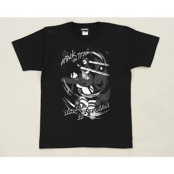 進撃の巨人 Tシャツ ミカサ     「Attack on Titan」
