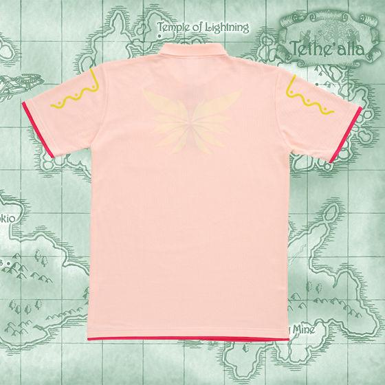 テイルズ オブ シンフォニア 天使の羽ポロシャツ(コレット、ゼロス)