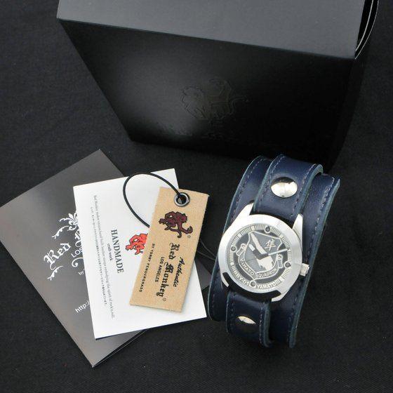 【限定100本】 宇宙戦艦ヤマト2199×レッドモンキー腕時計 ヤマト『BBY-01』航空隊徽章
