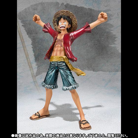 フィギュアーツZERO モンキー・D・ルフィ 新世界編 Special Color Edition