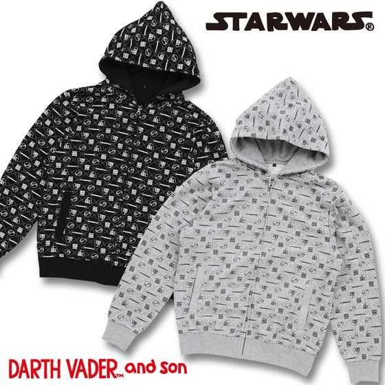 STAR WARS DARTH VADER and son パーカー【starwars_y】