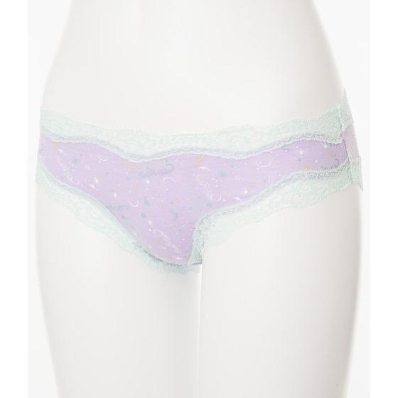 【PEACH JOHNコラボ】 セーラームーンパンティーズ Lavender