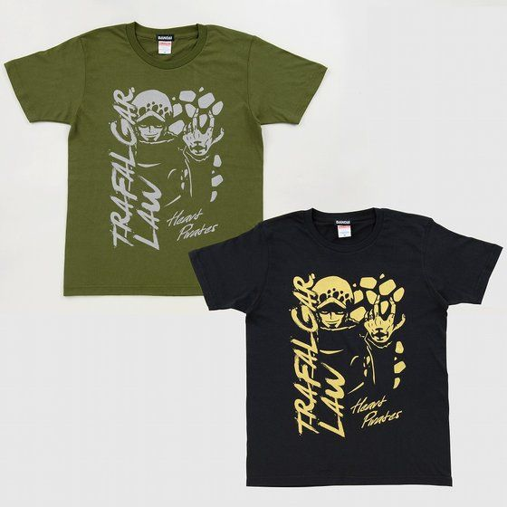 ワンピース Tシャツ トラファルガー・ロー柄