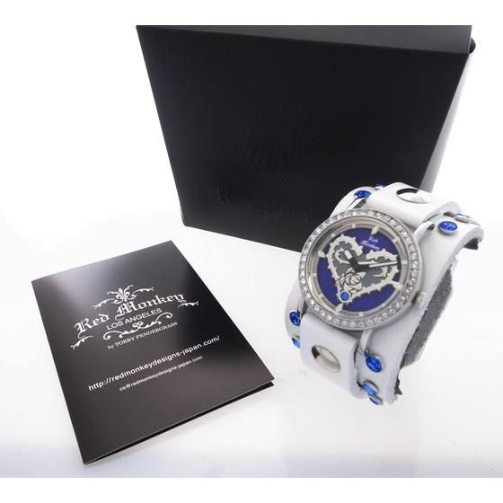 TIGER & BUNNY x red monkey designs Collaboration Wristwatch ブルーローズモデル