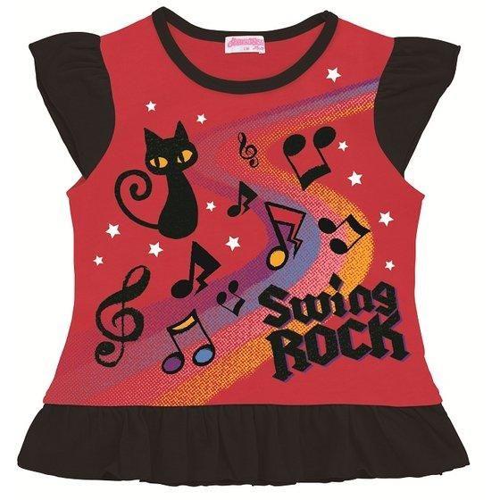 アイカツ! スイングロック デザインTシャツ