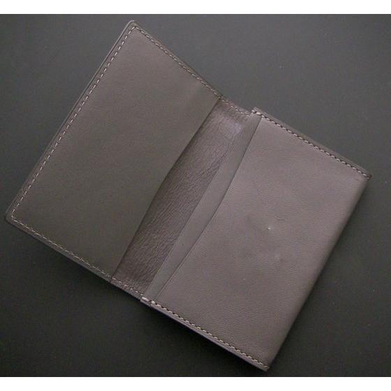衝撃ゴウライガン 本革カードケース 総柄デザイン