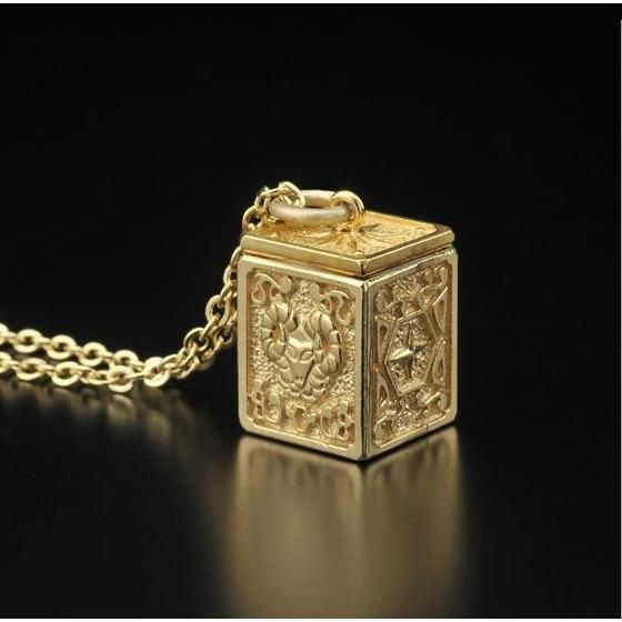 【受注生産】聖闘士星矢 黄金聖衣箱(ゴールドクロスボックス)デザインペンダント 牡羊座(アリエス)