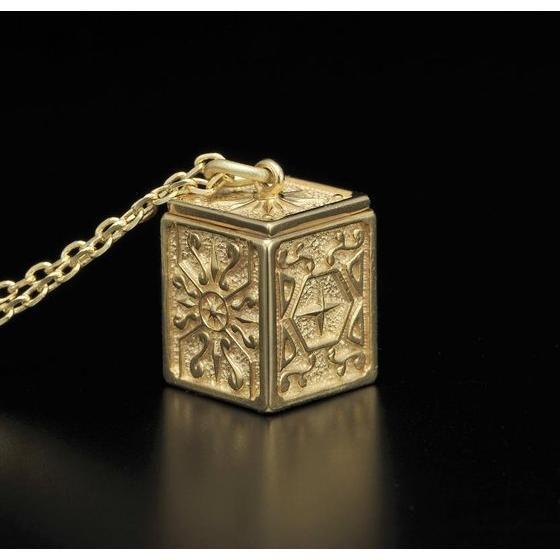 【受注生産】聖闘士星矢 黄金聖衣箱(ゴールドクロスボックス)デザインペンダント 双子座(ジェミニ)