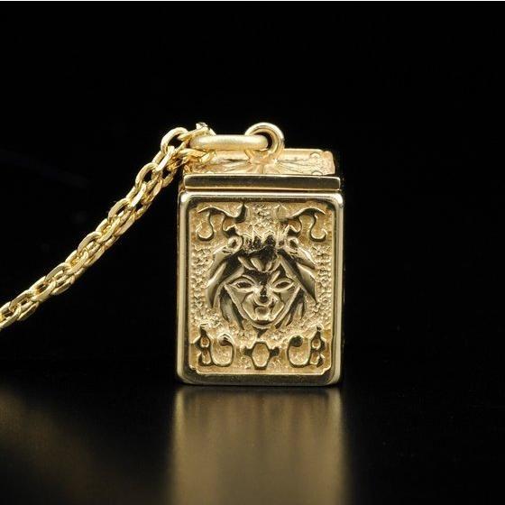 【受注生産】聖闘士星矢 黄金聖衣箱(ゴールドクロスボックス)デザインペンダント 獅子座(レオ)