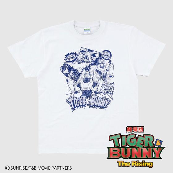 劇場版 TIGER & BUNNY The Rising アメコミ風Tシャツ