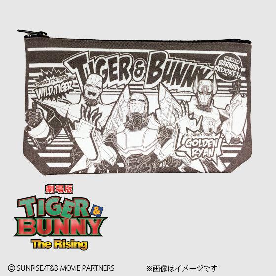 劇場版 TIGER & BUNNY The Rising アメコミ風ポーチ