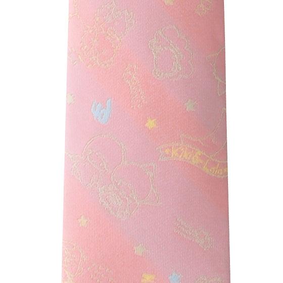 ネクタイキキララコラボ ピンク