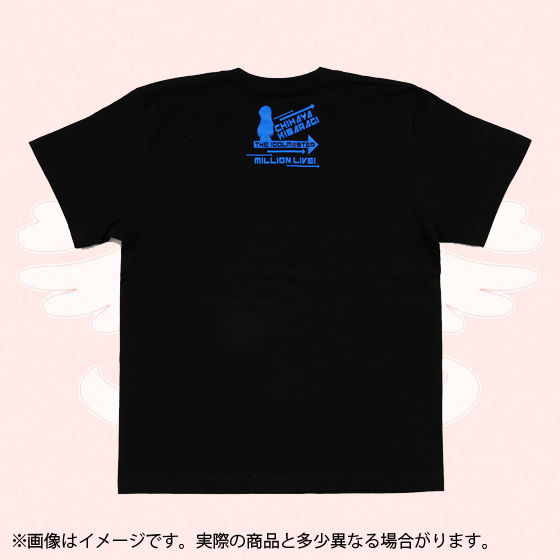 アイドルマスター  ミリオンライブ!Tシャツ VIVID SHADOW  如月千早