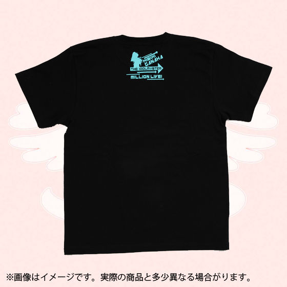 アイドルマスター  ミリオンライブ!Tシャツ VIVID SHADOW  我那覇響