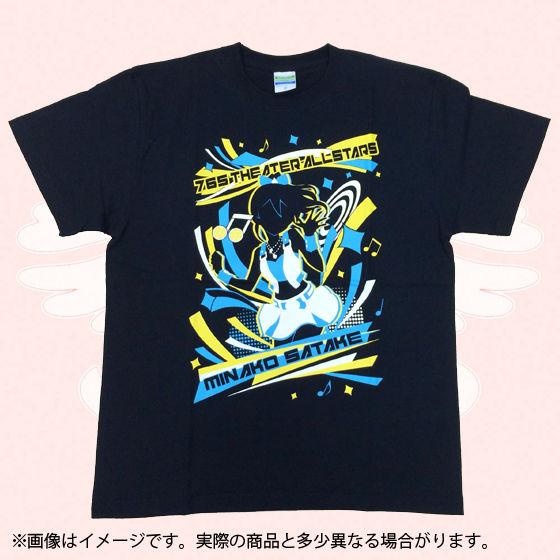 アイドルマスター  ミリオンライブ!Tシャツ VIVID SHADOW  佐竹美奈子