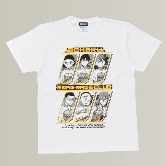 弱虫ペダル Tシャツ キャラクター柄 総北高校