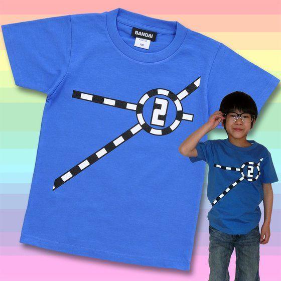 烈車戦隊トッキュウジャー トッキュウ2号Tシャツ(KIDSサイズ)