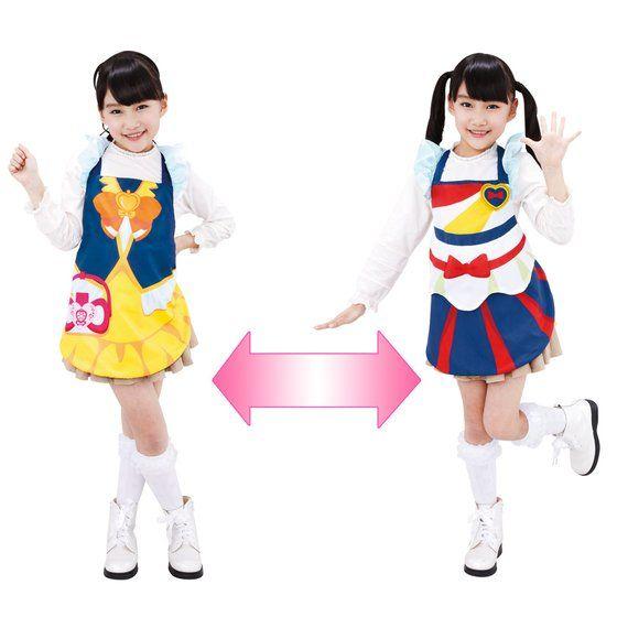 ハピネスチャージプリキュア! なりきりフォームチェンジ キュアハニー&ポップコーンチア